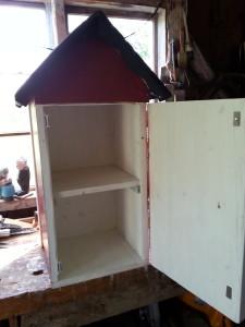Bokbytarbox öppen